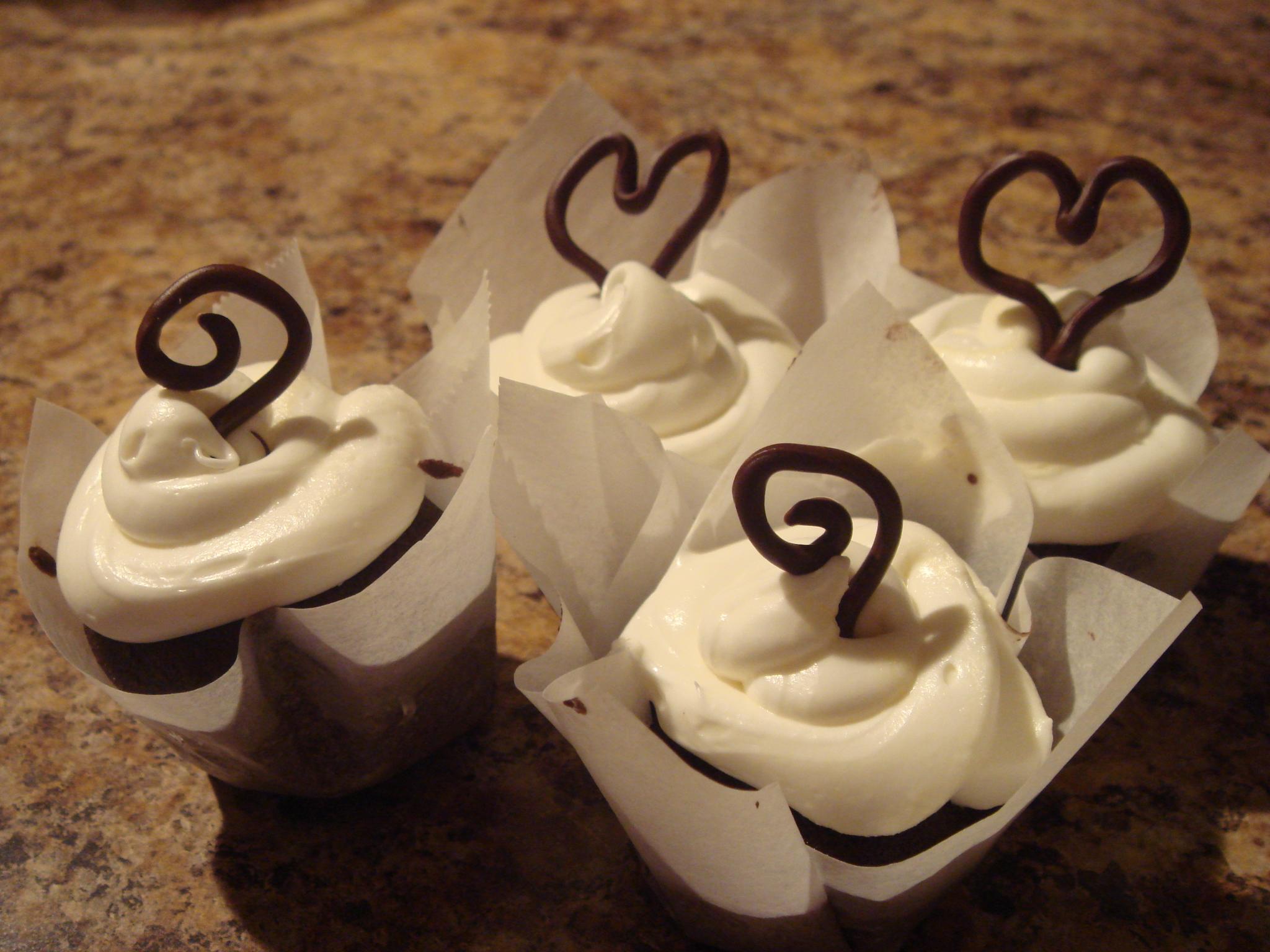 homemade cupcake liners