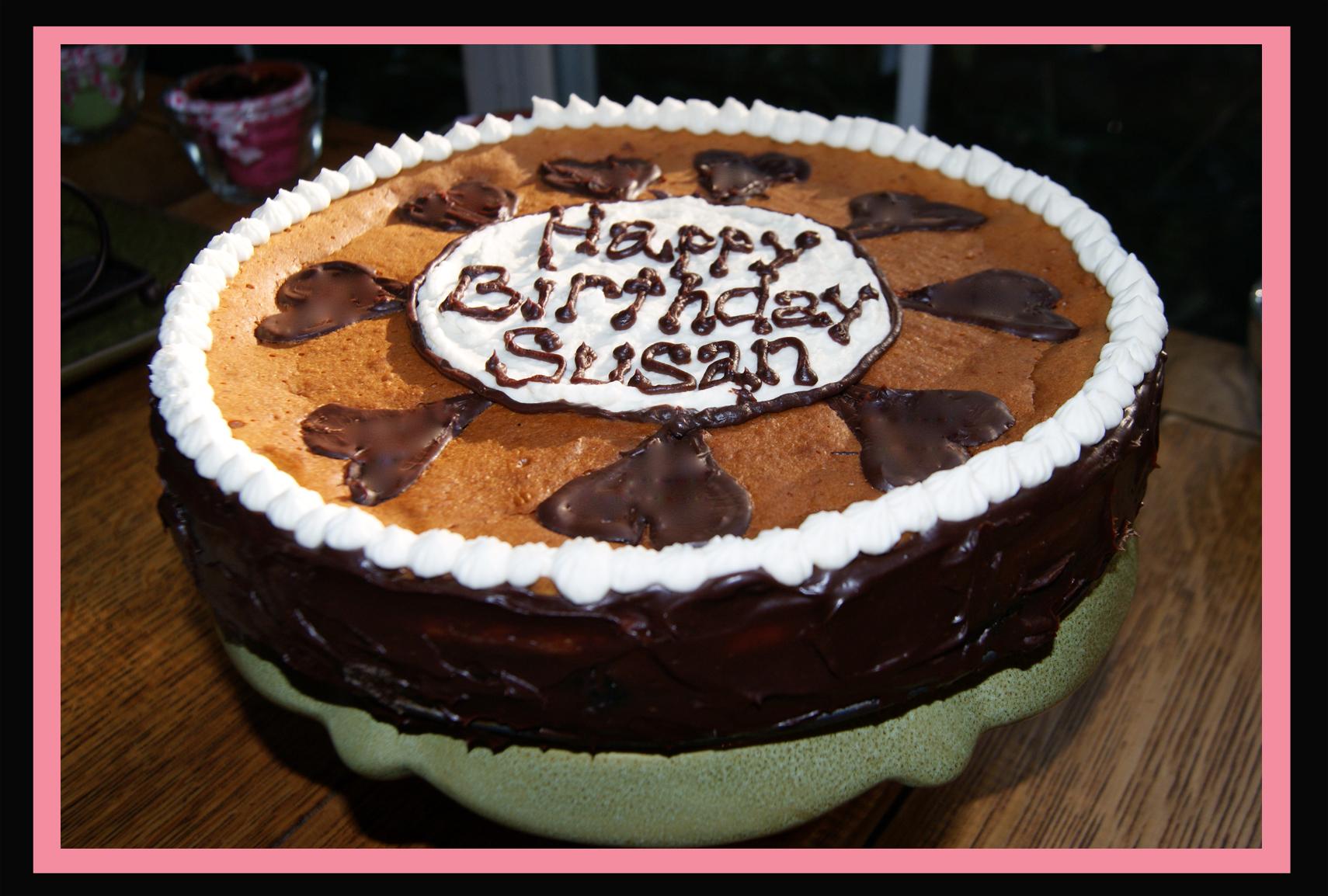 Susan s Triple Decker Cheesecake